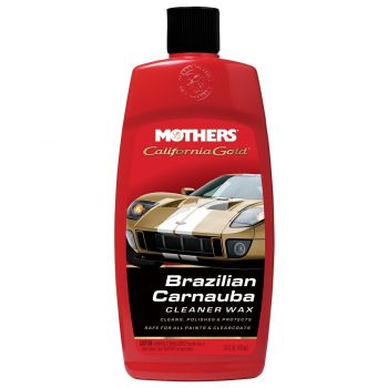 Mothers 05701 California Gold Brazilian Carnauba Cleaner Liquid Wax