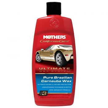 Mothers 05750 California Gold Pure Brazilian Carnauba Liquid Wax