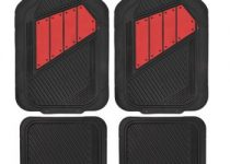 Motor Trend FlexTough 2 Tone Rubber Car Floor Mats