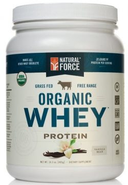 Natural Force® Organic Whey Protein Powder