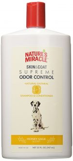 Nature's Miracle Supreme Odor Control Natural Oatmeal Shampoo