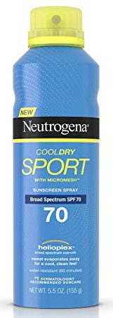 Neutrogena Cooldry Sport Sunscreen Spray Broad Spectrum