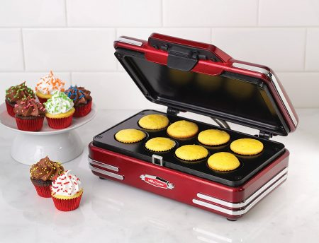 Nostalgia RCKM700 Retro Series Mini Cupcake Maker