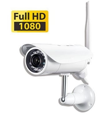 PHYLINK Bullet Pro 1080p Outdoor Wireless WiFi Security Camera
