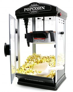 Popcorn Maker Machine by Paramount - New 8oz Capacity Hot-Oil Popper
