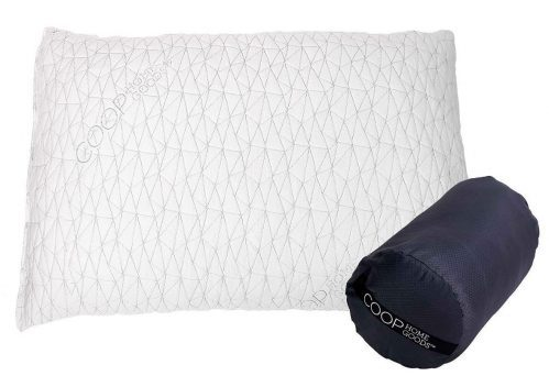 Premium Shredded Memory Foam Camping and Travel Pillow