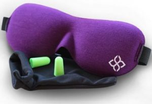 Purple Sleep Mask by Bedtime Bliss®
