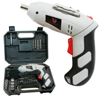 QST 4.8v Rechargeable Copper Electric Screwdriver