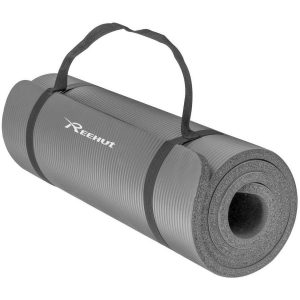 Reehut Exercise Yoga Mat (Grey)