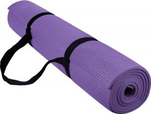 Reehut Exercise Yoga Mat (Purple)