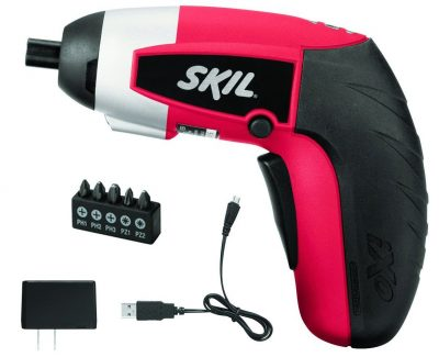 SKIL 2354-07 iXO 4V Max Lithium-Ion Palm-Sized Cordless Screwdriver