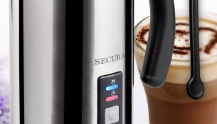 Secura Automatic Electric Milk Frother and Warmer (250ml) MMF-003
