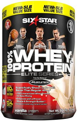 Six Star Whey Protein Plus Powder