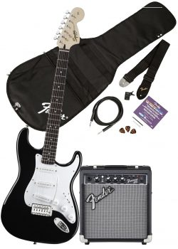Squier by Fender Affinity Stratocaster Beginner Electric Guitar