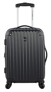 Travelers Club Luggage Madison 20 Inch Hardside Expandable Spinner