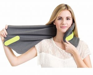 Trtl Travel Neck Pillow (Grey)