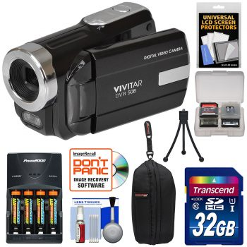 Vivitar DVR-508 HD Digital Video Camera Camcorder
