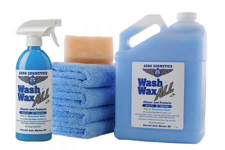 Waterless Car Wash Wax Kit 144 oz. Aircraft Quality Wash Wax for your Car RV