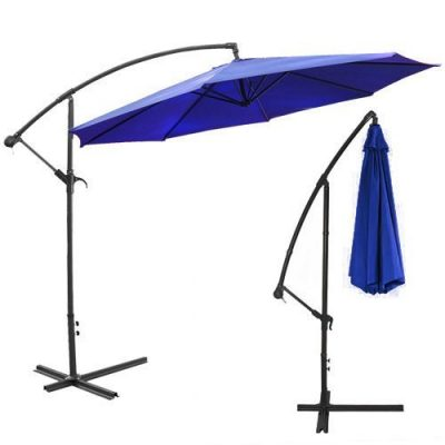 XtremepowerUS Deluxe 10' Offset Patio Umbrella