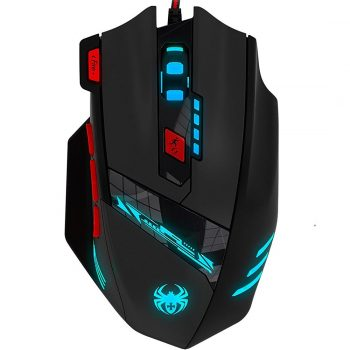 Zelotes T90 Gaming Mouse 9200 DPI Wired USB Computer Mice