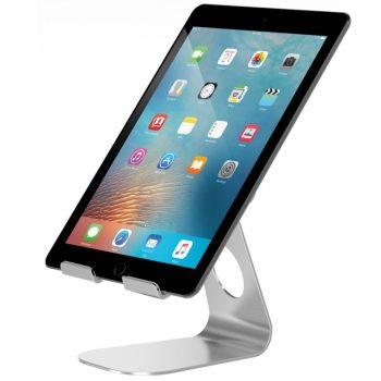 Adjustable Tablet Stand, Pasonomi iPad Stand, Aluminum Desktop Stand Holder for iPad Pro / iPad Air 2 3 4/ iPad mini , Samsung Tab