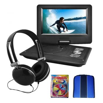 "Ematic 10"" Portable Swivel Screen DVD Player"