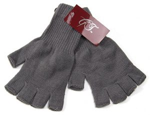 Gravity fingerless gloves