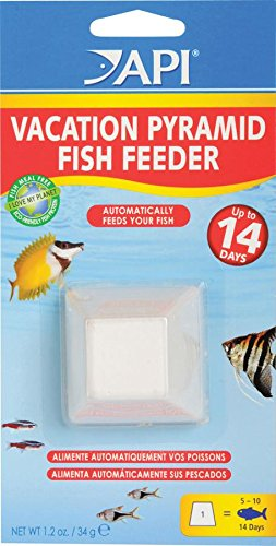 Aquarium Pharmaceuticals Pyramid Fish Feeder