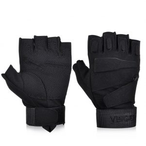 Vbiger tactical fingerless gloves