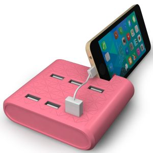 Ultra Fast 6 Port USB Charging Station