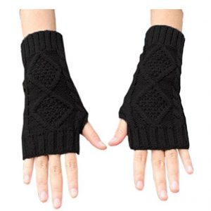 NOVAWO Fingerless Gloves