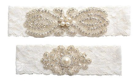 Wishprom Bridal Garter Belt
