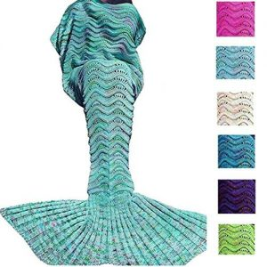 DDMY Mermaid Tail Blanket
