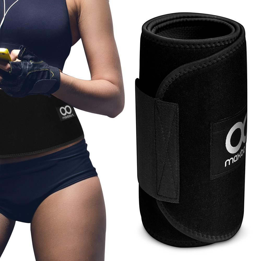 Maxboost Premium Weight Loss Ab Belt for Men Women