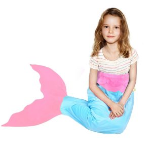 BATTOP Mermaid Tail Blanket