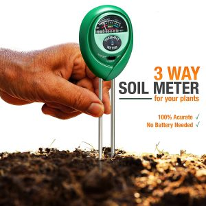 Soil pH Meter 3 in 1 from Healthy Wiser