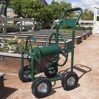 1. Best Choice Products 300 FT Hose Reel Cart - Best Water Hose Reels
