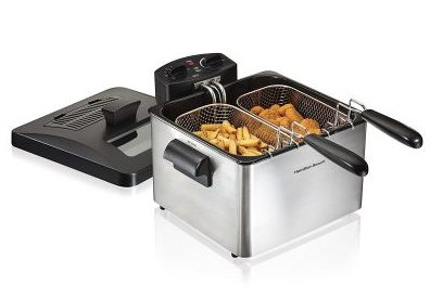 1. Hamilton Beach 35036 Electric Deep Fryer - Best Electric Deep Fryers