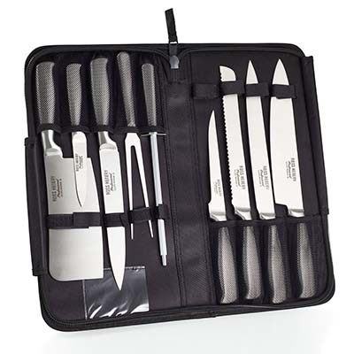 1. Ross Henery Professional 9 Piece Chef Knife Set - Best Professional Chef Knives