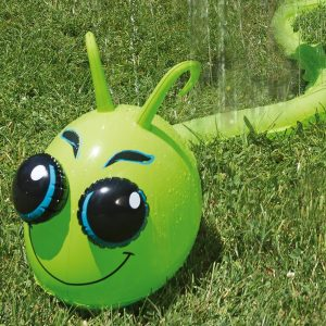 Inflatable Aqua Fun Caterpillar Water sprinkler
