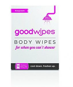 GoodWipes Women's Deodorizing Body Biodegradable Wipes