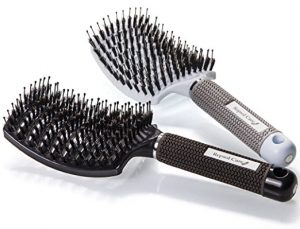 2. Repsol Care Boar Bristle Hair Brush