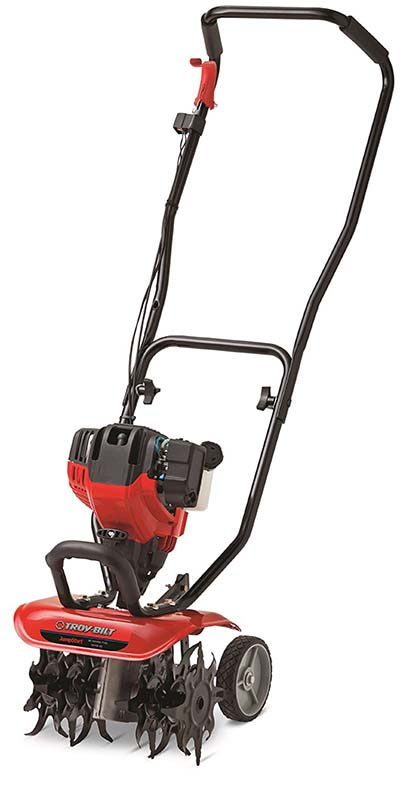 2. Troy-Bilt TB146 Cultivator with JumpStart Technology
