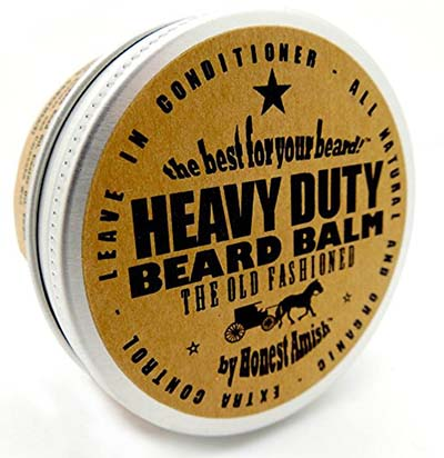 3. Honest Amish 2 Ounce Heavy Duty Beard Balm