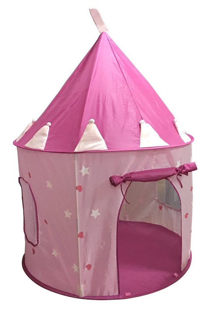SueSport Girls Princess Castle Play Tent