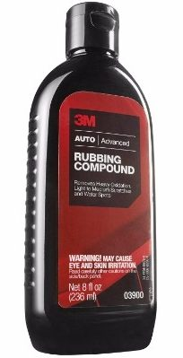 4 - 3M 03900 Rubbing Compound