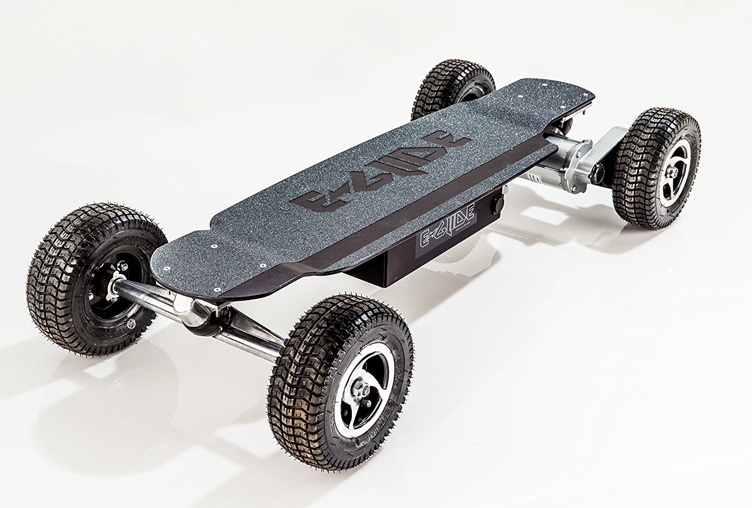 eGlide, GT Powerboard - Black Anodized Aluminum Off Road
