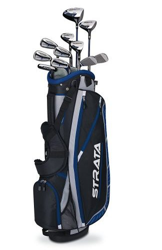 5. Callaway 16-Piece Men's Golf Club Set with Bag