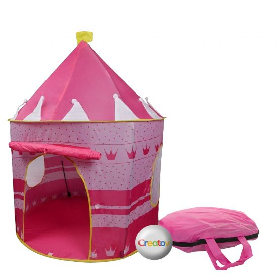 Children Play Tent Girls Pink Castle by Creatov