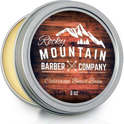 5. Rocky Mountain Barber Company Cedarwood Beard Balm